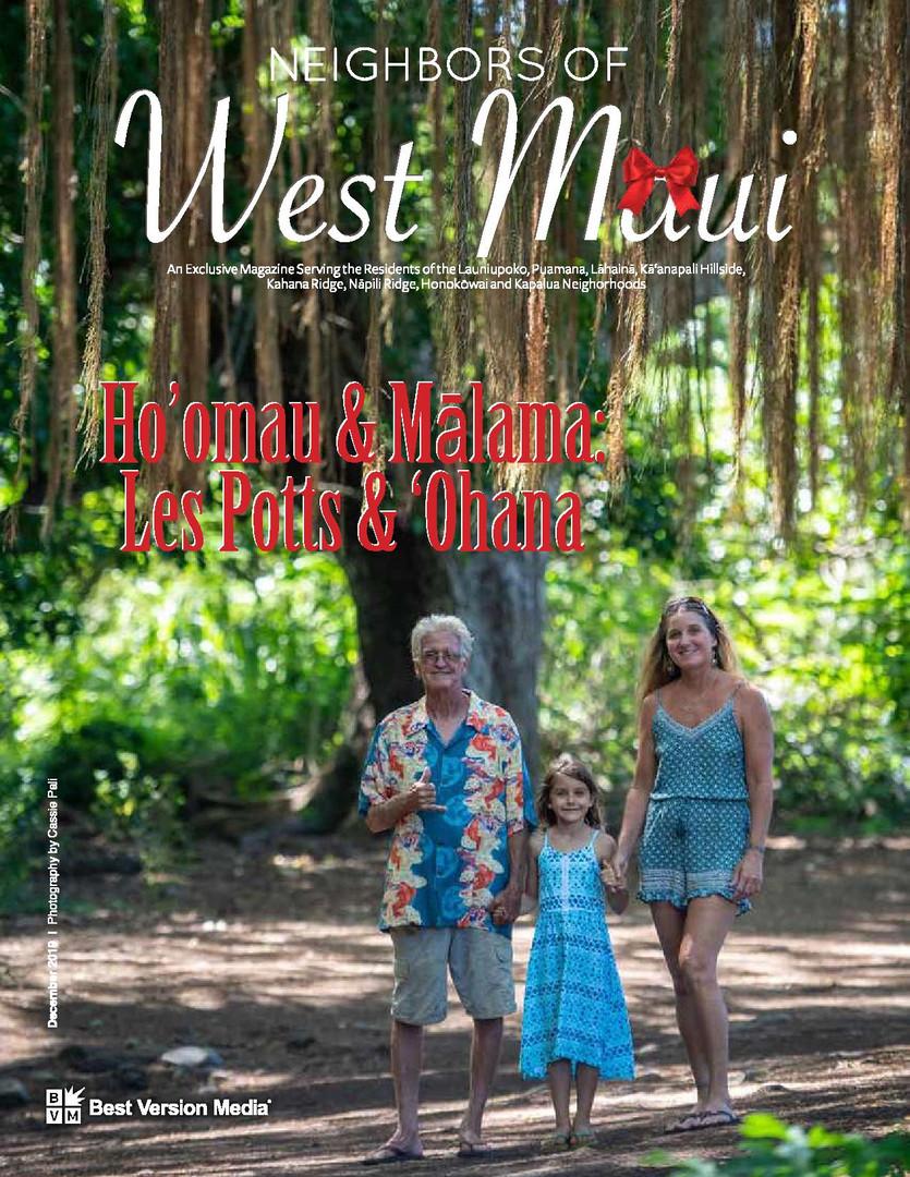 Neighbors of West Maui December 2019 Les Potts