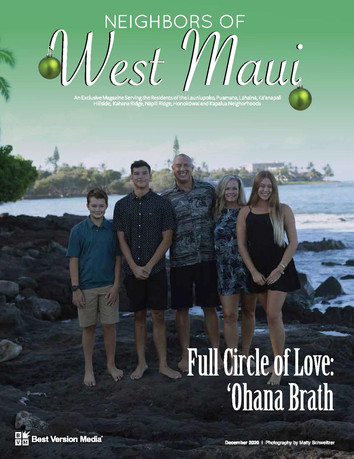Neighbors of West Maui Dec 20