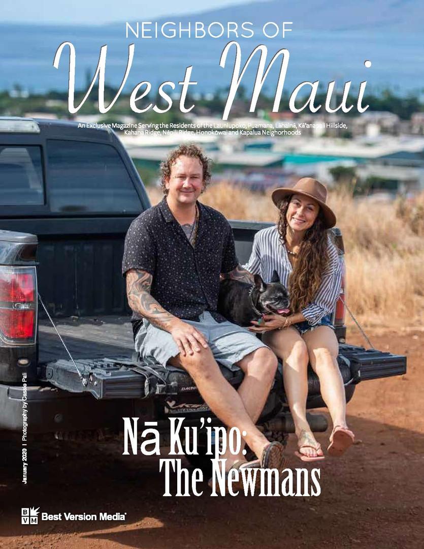 Neighbors of West Maui January 2020 Newman