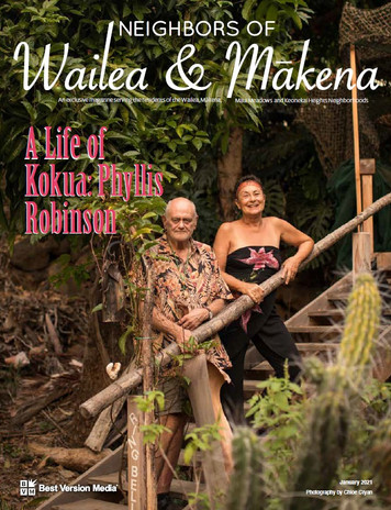 Neighbors of Wailea & Makena Jan 2021