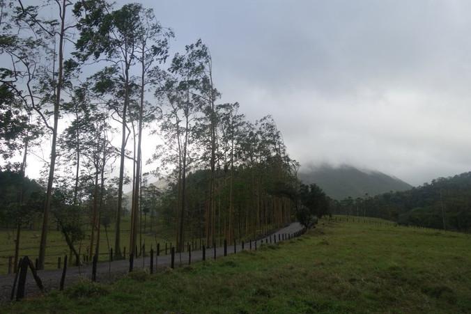 cerro chato volcano hike 1