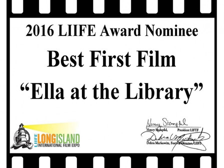 'Ella' nominated for Best First Film