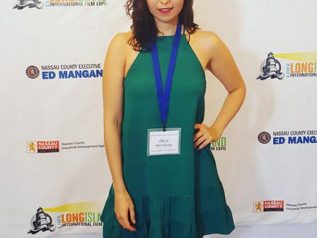 Ella at the Long Island Film Expo