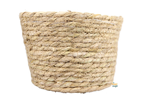 Natural seagrass plant pot - Large