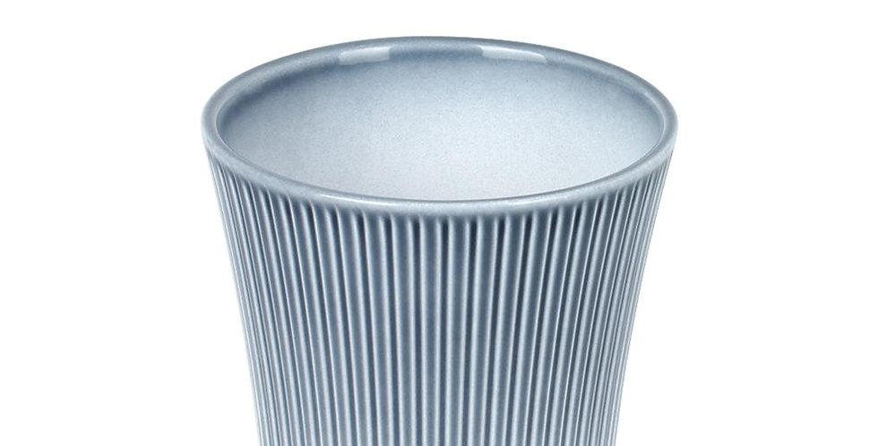 Vintage Blue glazed pot