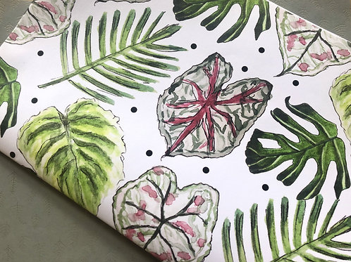 Tropical Leaf Wrapping Paper