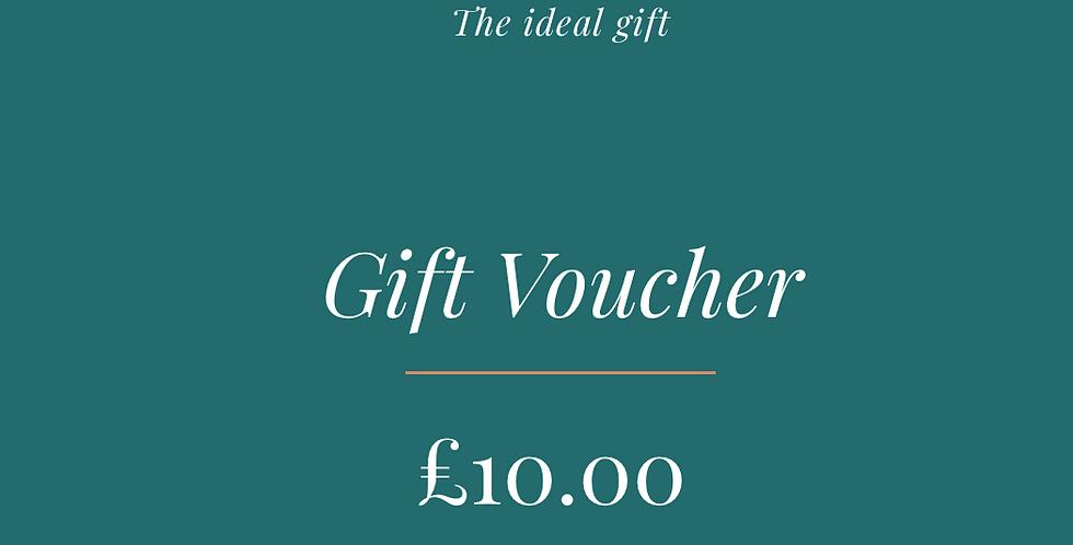Gift Voucher - From £10-£150