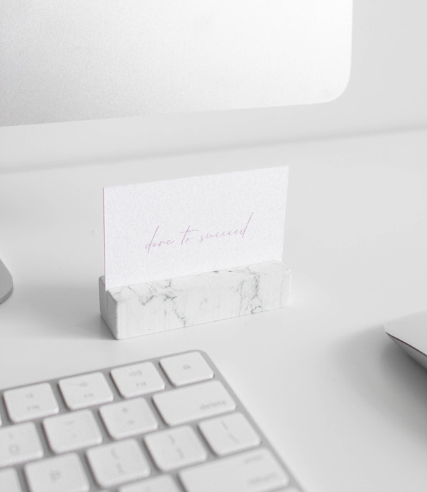 Business Card Design / Natalie Kladnitski