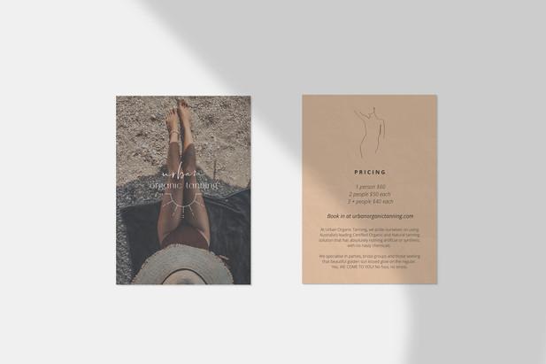 Print Design / Urban Organic Tanning