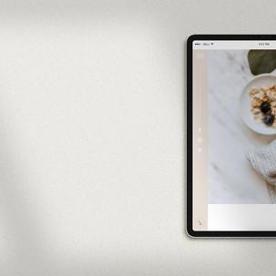 Website Design / Hannah Wilson Nutrition