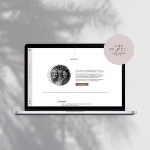 Website Design / The Be Well Co.