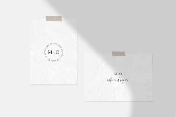Logo Design / M&O Cafe + Tapas