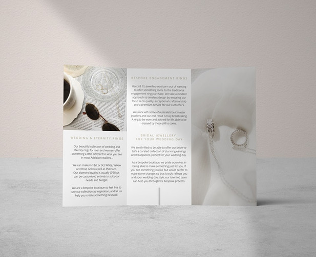 Brochure Design / Harry & Co.