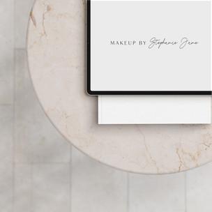 Logo Design / Makeup By Stephanie Jane