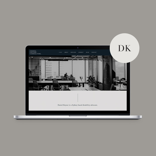 Website Design / Daniel Keyzer