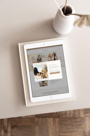 Website Design / Solaine Douglas Nutrition