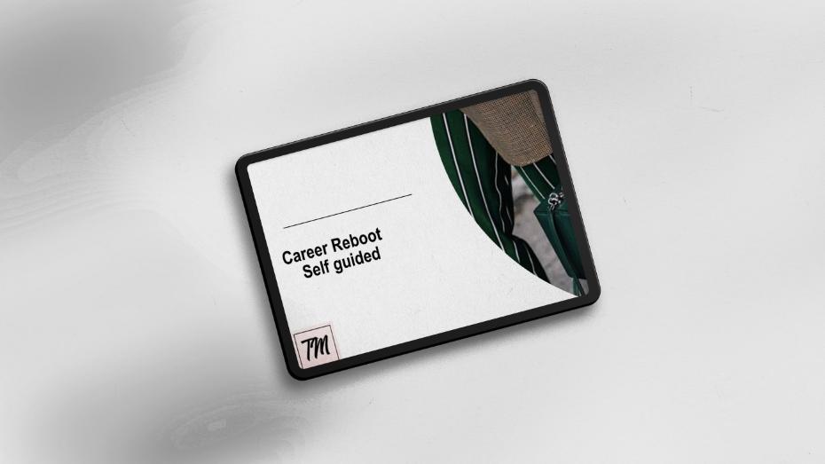 Self-Guided Career Reboot