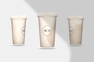 Coffee Cup Design / M&O Cafe + Tapas