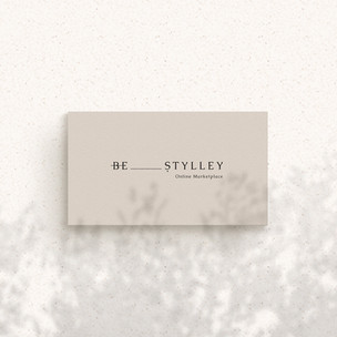 Business Card Design / Be Stylley