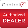 Control4 Authorized Dealer Badge for the leadin AV insallation comany in allen, texas