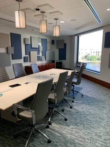 Boardroom Solution - Acoustical Treatmen