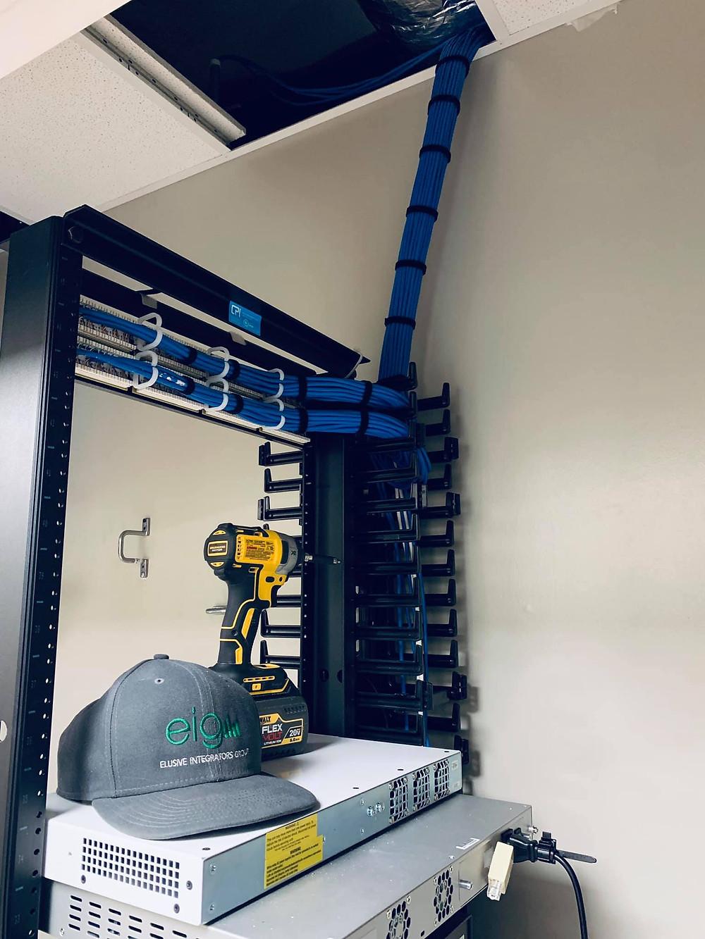 Office Cabling Services in Dallas, Plano, Frisco, Mckinney, Allen