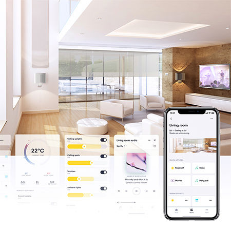 Crestron Home with EIG
