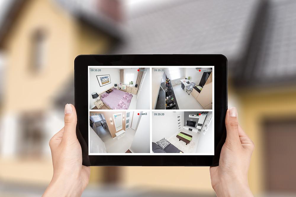4K Surveillance System Viewing, Camera System, IP Cameras