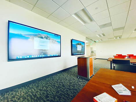 Training Room - Dual LG 86'' - Crestron