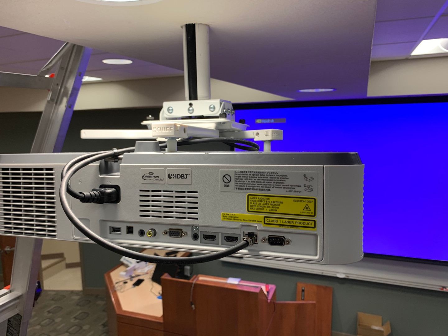 Crestron Connected Projector