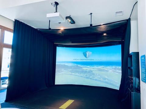 Golf Simulator | Lake Yard