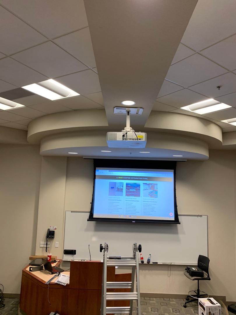 Projector & Screen Installation