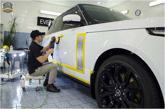 Восстановительная полировка кузова автомобиля | DS-Ukraine