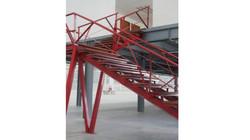 Industrial Warehouse stair design