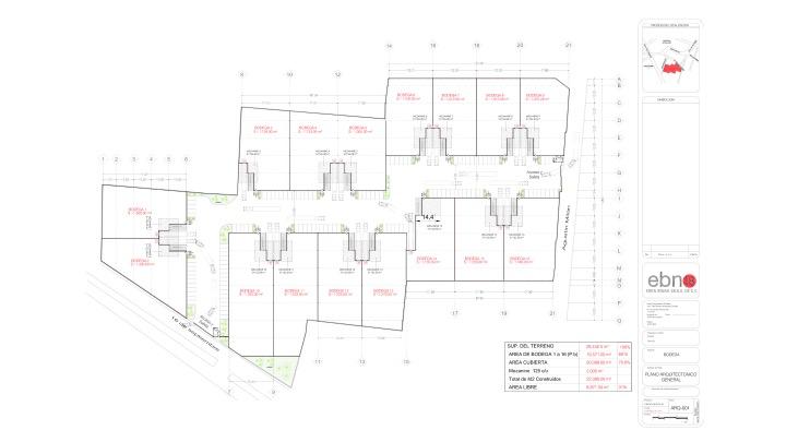 Industrial Warehouse floorplan