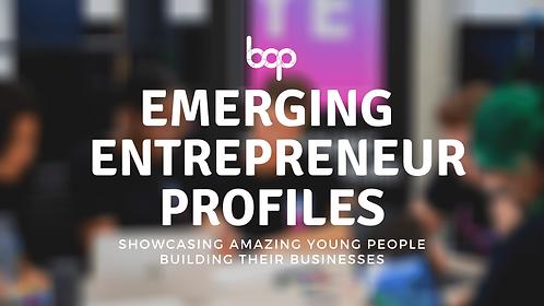 Emerging Young Entrepreneur Profiles - Free Resource