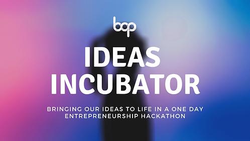 Ideas Incubator Program