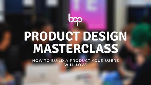 Product Design Masterclass