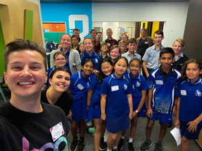 STEM Students Working To Design Our City Of The Future - Gladstone Future Cities Challenge