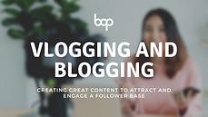 Vlogging And Blogging Workshop Program _ BOP Industries
