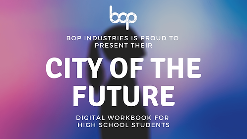 City Of The Future Workbook - High School