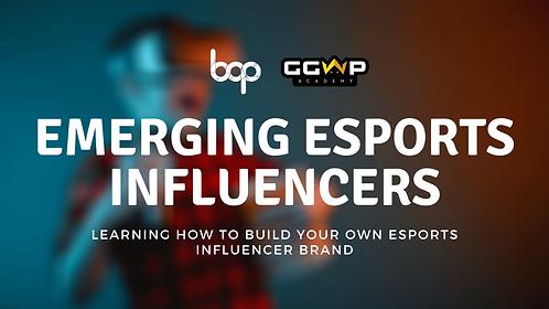 Emerging Esports Influencers Program