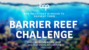 The Reef Challenge - High School Program