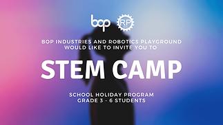 STEM Camp Banner