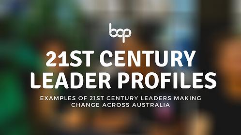 21st Century Leader Profiles - Free Resource