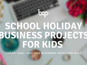 Fun Business Projects For Your Kids To Try This School Holidays