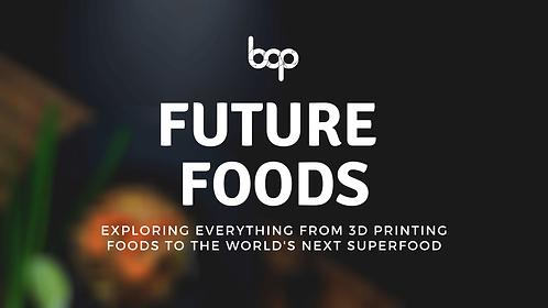 Future Foods Program