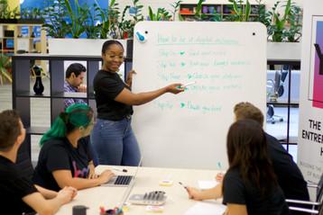 BOP Young Entreprenuers Hub Brisbane - Brainstorming Ideas