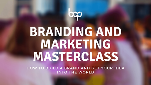Branding And Marketing Masterclass