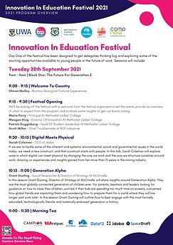Innovation In Education Festival - 2021 Program.png